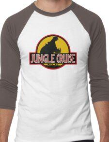 Jungle Cruise Park (NO TEXT) Men's Baseball ¾ T-Shirt