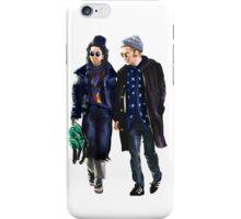 Rob Pattinson and FKA Twigs iPhone Case/Skin