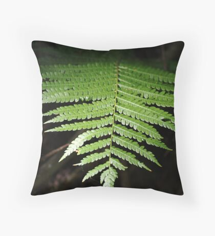 One Frond Throw Pillow
