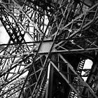 Eiffel Tower structure by Alex Howen
