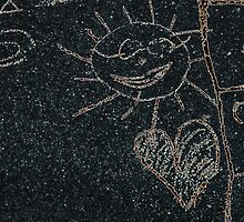 Child Drawing (Call Sun In Street) by terrebo