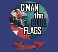 Kimi Raikkonen - Blue Flags by evenstarsaima