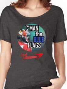 Kimi Raikkonen - Blue Flags Women's Relaxed Fit T-Shirt