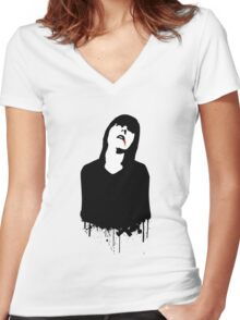 ZOMBIE 2 Women's Fitted V-Neck T-Shirt