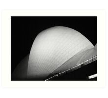 Sydney Opera House sail Art Print