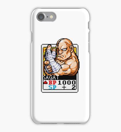 Sagat - Street Fighter iPhone Case/Skin