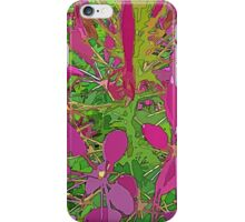 Pink Ground Cover iPhone Case/Skin