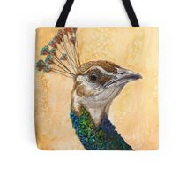 Peahen Tote Bag