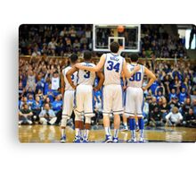 Duke Basketball Canvas Print