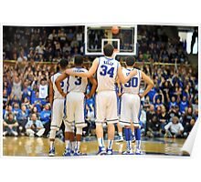 Duke Basketball Poster