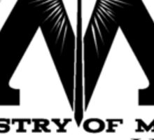 Ministry of Magic - Games & Sports Sticker