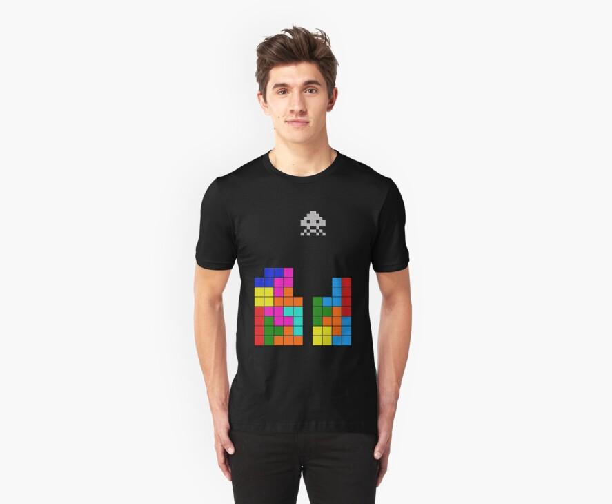 Tetris Invasion by michaelpassa