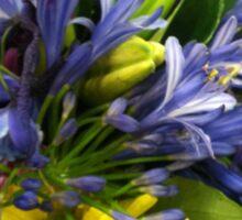 Bright Colorful Flower Bouquet Sticker