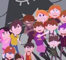 Cartoon Rompus - Shadows Sticker