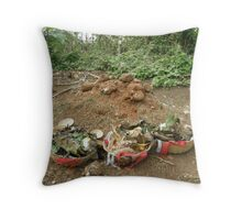 Woodoo offer Throw Pillow
