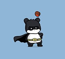 BatPanda and a Robin by chubbycreations