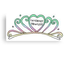internet princess Canvas Print