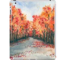 Autumn Journey - Landscape Watercolour iPad Case/Skin