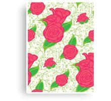 Rose Floral Canvas Print