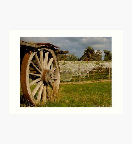 Country Wagon Art Print