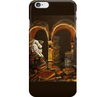 Library Cat iPhone Case/Skin