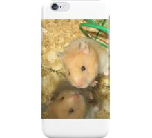 Buttered Popcorn the Hamster iPhone Case/Skin