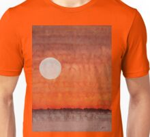 Moon over Mojave original painting Unisex T-Shirt