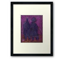 The Old Couple Framed Print