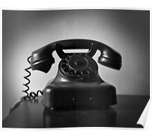 Ring Ring On The Telephone Poster