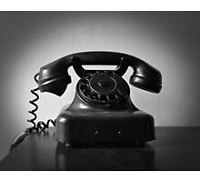 Ring Ring On The Telephone Photographic Print
