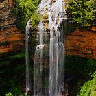 Wentworth Falls, New South Wales. by Andy Newman