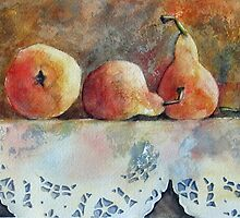 A Gathering of Pears by bevmorgan
