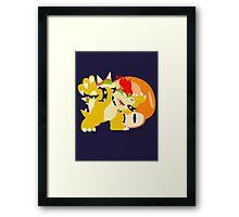 Super Smash Bros Bowser Framed Print