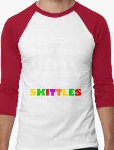 I'm More Confused Than A Chameleon In A Bag Of Skittles Men's Baseball ¾ T-Shirt