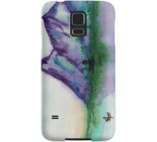 Fishing at Dawn - Chinese Landscape Sumi-e Samsung Galaxy Case/Skin