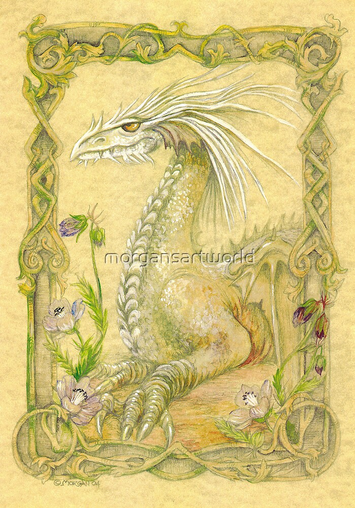 Fantasy Dragon  by morgansartworld