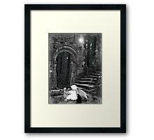 An Angel's Playtime Framed Print