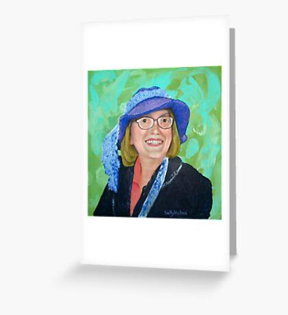 Vernie's Hat Greeting Card