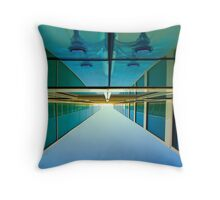 Unusual perspective Throw Pillow