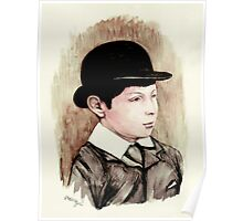 Churchill the schoolboy Poster