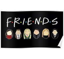 Friends Tiggles Poster