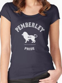 Pemberley Pride - Team Darcy - Pride and Prejudice Women's Fitted Scoop T-Shirt