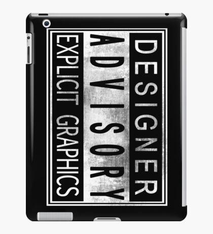 Graphic Designer iPad Case/Skin