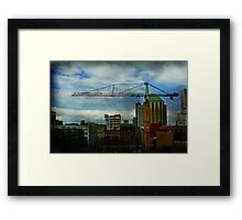 Work To Be Done Framed Print