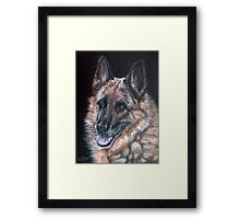 Just a Dog? Framed Print