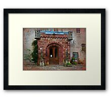 Delgatie Castle from the Back (near Turriff, in Aberdeenshire, Scotland) Framed Print
