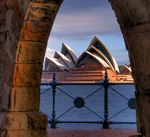 The Sydney Opera House Framed! by Skye24Blue