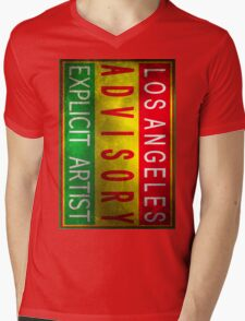 Los Angeles Mens V-Neck T-Shirt