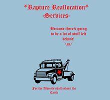 Rapture Reallocation Services Unisex T-Shirt