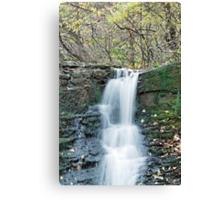 Waterfall cascade Canvas Print